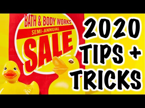 Bath & Body Works SEMI-ANNUAL WINTER SALE 2020!