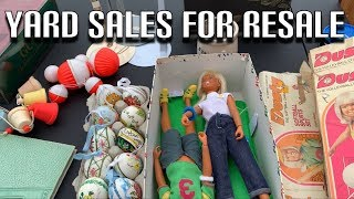 Yard Sale Shopping For Resale   Haul Part 1   Hard Goods