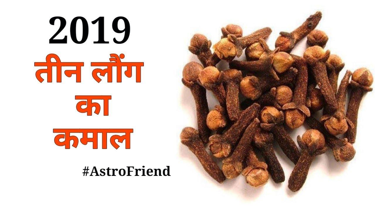 तीन लौंग का कमाल – साल 2019 मचायेगा धमाल   Best Astrologer   Santoshi JI