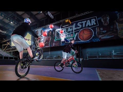 Epic Basketball Trickshots on a Bike |SickSeries#41
