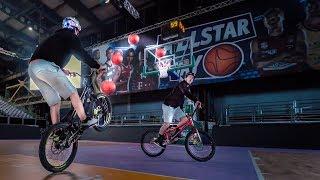 Epic Basketball Trickshots on a Bike  SickSeries#41