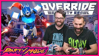 Who is the Best Gundam in OVERRIDE: MECH CITY BRAWL - Party Mode