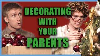 Wenn deine Eltern dich nicht den Baum dekorieren lassen  Foil Arms and Hog
