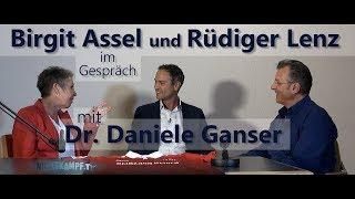 Birgit Assel und Rüdiger Lenz im Gespräch mit Dr. Daniele Ganser