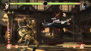 Mortal Kombat 9 - Sheeva обучение + комбо