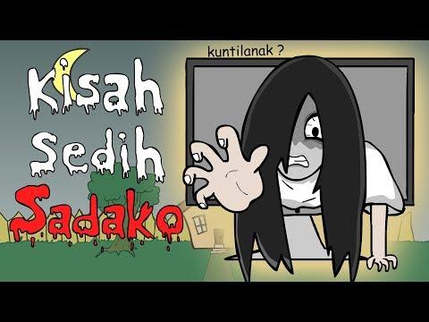 Kartun Hantu - Kisah Sedih Sadako - Kartun Lucu | Kartun Hantu Lucu