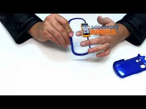 Samsung Intensity Rubberized Hard Plastic Case