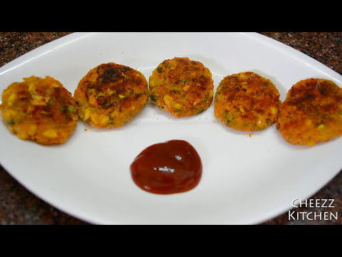 Mixed Vegetable Cutlet