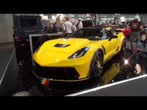 Widebody C7 Corvette Z06 Supervette Wing Forgiato Wheels by Alandi Performance @ Top Marques 2018