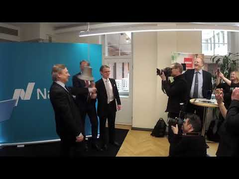 Nasdaq Helsinki welcomes Harvia