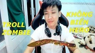 Bình Luận CF : Kukri Beast Troll Zombie Không Biến Hero - tiến zombie v4