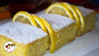 Ленивый лимонный пирог. Вкусно, быстро и просто.