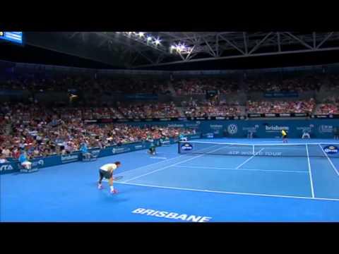 Federer v Matosevic - Full Match Men's Singles Quarter Finals : Brisbane International 2014