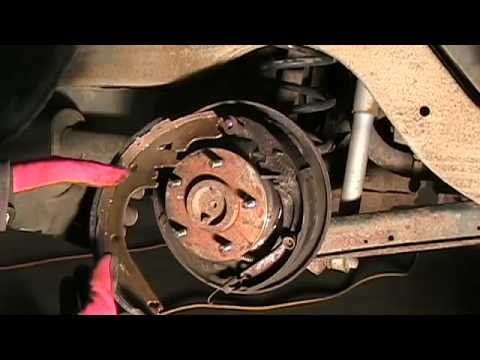 Drum Brake Pad Replacement Diy 1994 Chevy Caprice Wagon Youtube