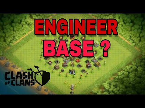 WHAT IS ENGINEER BASE IN CLASH OF CLANS { HINDI }