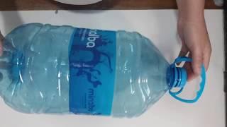Cesto Organizador com galão de água