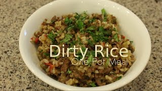 Dirty Rice Recipe (one Pot Meal)