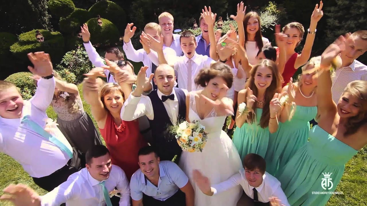 Свадьба видео веселая