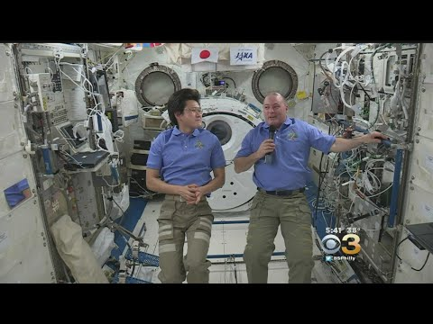 International Space Station Astronauts Give Insights On Space Life