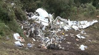 Cockpit recording suggests jet was low on fuel before Colombia crash