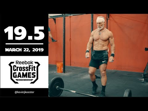 Kevin Koester 19.5 CrossFit Open WOD Full Workout + Recap