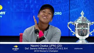 Naomi Osaka -- Humble, Witty and very professional... way to go girl!!!