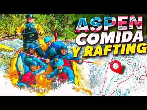 Conocer Aspen, Colorado. Restaurantes y Rafting.