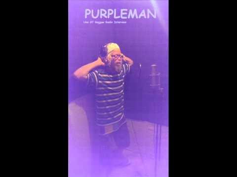Purpleman Uno GT Reggae Radio Italy  Interview