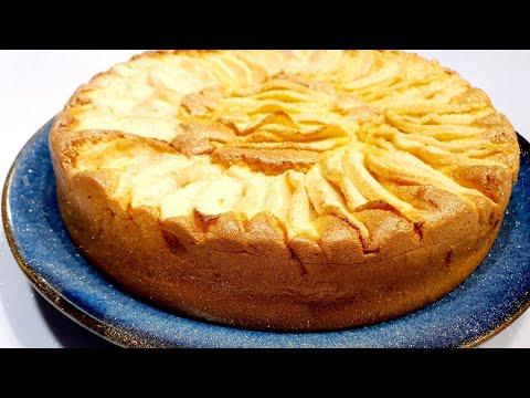 gâteau-au-yaourt-allégé-en-sucre-et-huile-au-pommes