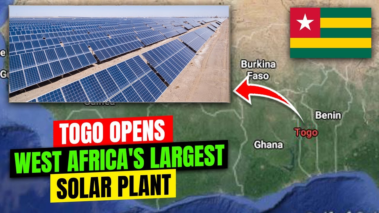 Togo Opens West Africa largest Solar Plant