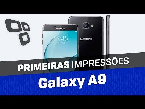Samsung Galaxy A9(2016) - Primeiras Impressões - TecMundo