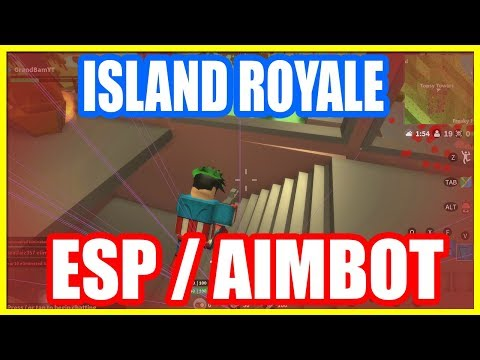 New Roblox Hackscript Island Royale Esp Aimbot More Free