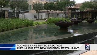 Rockets fans try to sabotage Ayesha Curry's new Houston restaurant
