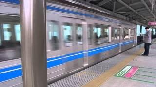 入線 西武6000系 快急元町 中華街行き 石神井公園入線