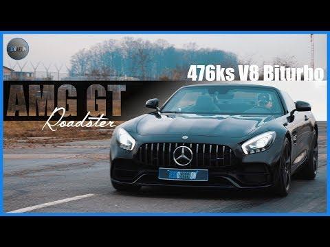 UPA ASFALT!!!Mercedes AMG GT Roadster 2018