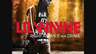 Lil Wayne ft Drake - Right Above It Instrumental With Hook