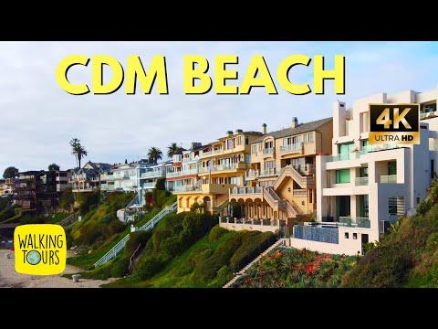 Beach Mansions $20m+   Best Beach in Orange County   Corona Del Mar California   4K