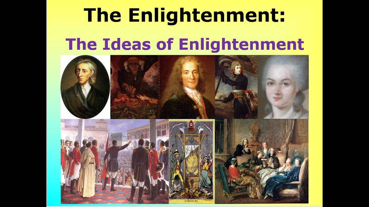 enlightenment philosophers of europe in 17th The period of enlightenment refers to the european culture of the 18th century   in the 17th century, british philosophers such as bacon, hobbes and locke.