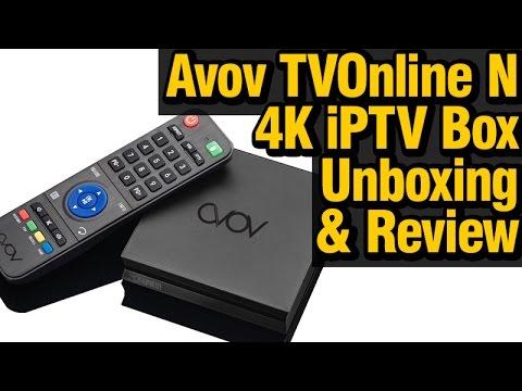 Avov TVOnline N, 4K, iPTV Set-top Box - Full Unboxing and Review