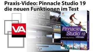 Pinnacle Studio 19: neue Funktionen erklärt und getestet