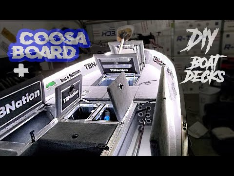 Lightest DIY Boat Decks Coosa Board   Ply 50/50 Split.