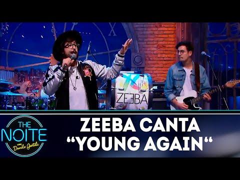 Zeeba canta Young Again The Noite 231118