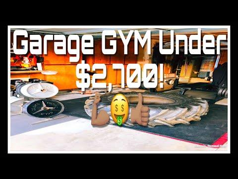 Garage gym setup for under update youtube