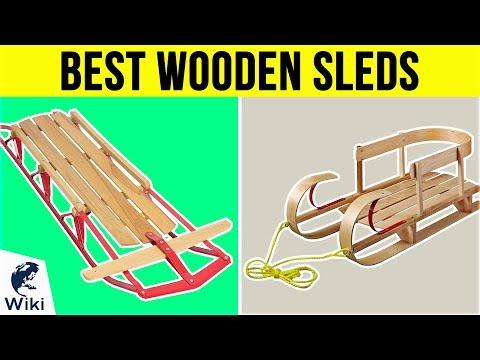 8 Best Wooden Sleds 2019