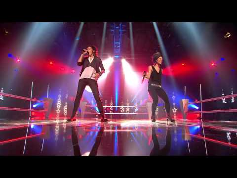 Marina Santelli vs. Iris Moné - America - Battle - The Voice of Switzerland 2013