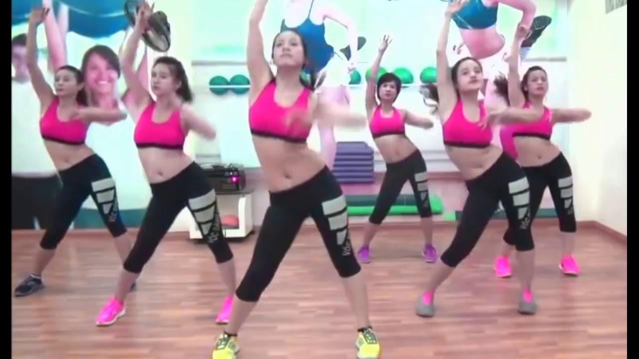 Bài tập Aerobic |  20 phút tập giảm mỡ bụng nhanh trong vòng 1 tuần | Thể dục thẫm mỹ 2019