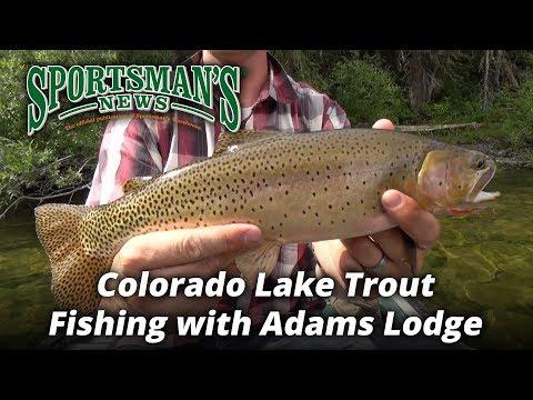 Colorado Lake Trout Fishing with Adams Lodge