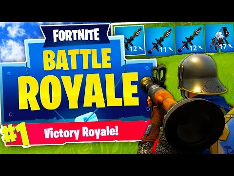 BRAND NEW EXPLOSIVES ONLY MODE! - FORTNITE BATTLE ROYALE ...