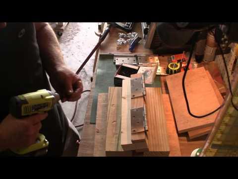Fold over kydex press construction