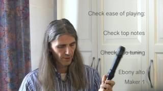 Thoughts on the Recorder Video 1: Choosing a recorder level 1